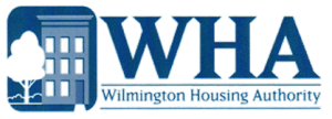 Logo for the Wilmington Housing Authority in Delaware.