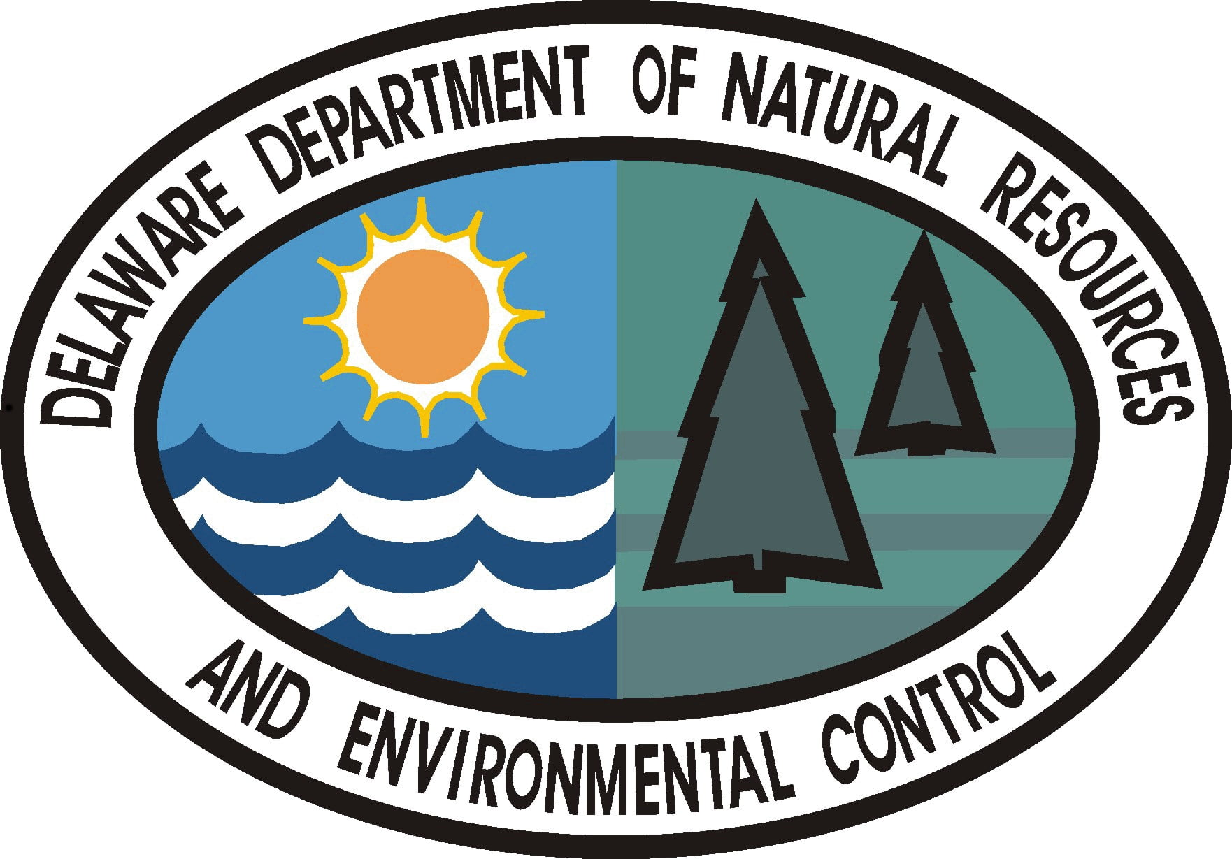 Logo for the Delaware Department of Natural Resources and Environmental Control as helpful information from Newark Housing Authority.